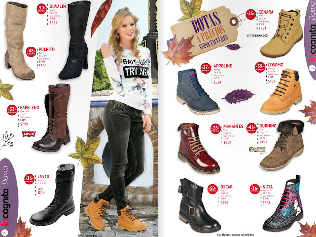 catalogo incognita zapatos ofertas  julio 2016