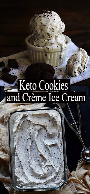 #Keto #Cookies and Creme #IceCream