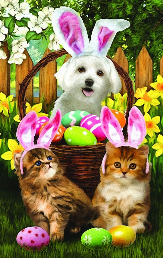 Easter Bunny in Training Jigsaw Puzzle by Sunsout
