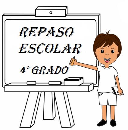 CUADERNO DE REPASO 4° PRIMARIA - MATERIAL DIDÁCTICO