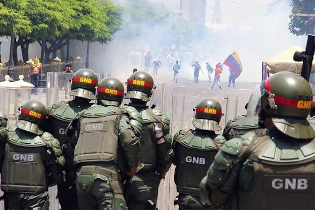 Asesinaron a Guardia Nacional en protesta del miércoles en San Antonio de los Altos