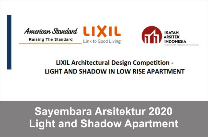 Sayembara Arsitektur 2020 Lixil Apartment