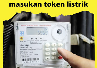 memasukan token listrik prabayar
