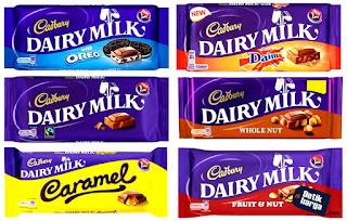 Katalog Harga Coklat Cadbury Dairy Milk Terbaru 2020