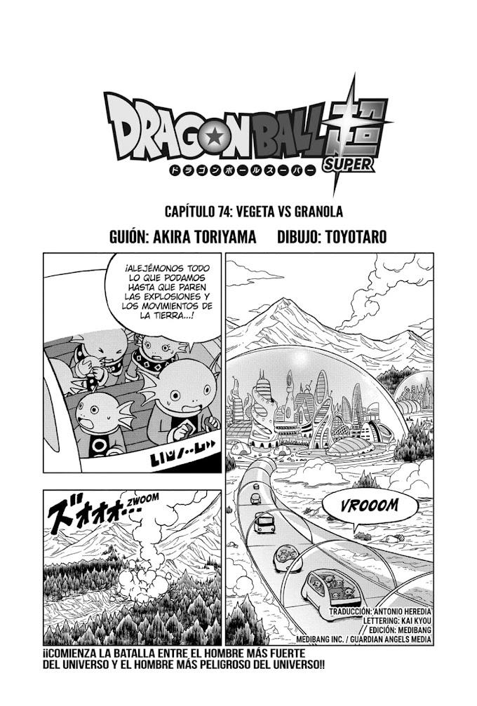 Dragon Ball Super Manga 74 Español