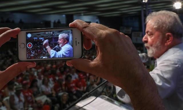 Primeira pesquisa Ibope traz Lula como favorito ao Planalto
