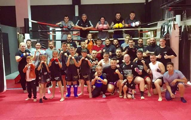 """""""Ανεβάζει στροφές"""" η ομάδα του Παναγιώτη Αλτούνη για το ερχόμενο Παγκόσμιο Πρωτάθλημα Kick boxing"""
