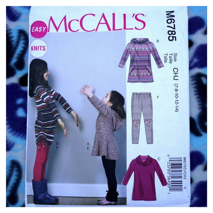 McCall's M6785 sewing pattern