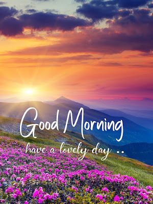 good morning nature images with quotes