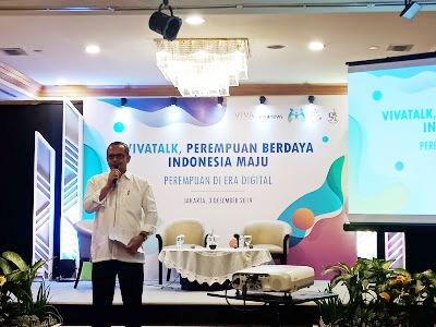 vivatalk peran perempuan di era digital menuju indonesia maju isu kesetaraan gender