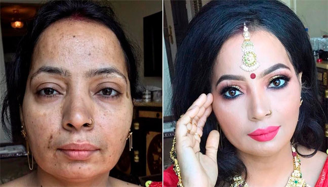 These Photos Clearly Shows the Power of Makeup (50 Pics)