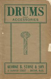 Stone Catalog G - ca. 1912