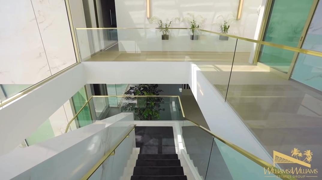 43 Interior Photos vs. Tour 1175 N Hillcrest Rd, Beverly Hills, CA Ultra Luxury Modern Mega Mansion