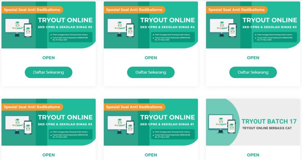 Langsung Tryout 3 Platform Ini Sediakan Latihan Soal Cpns 2021 Online Secara Gratis Dan Lengkap Guru Penyemangat