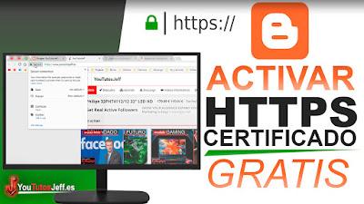 Poner certificado SSL en blogger, Poner certificado SSL en blogger con dominio personalizado, activar https en blogger, https, certificado ssl, blogger, trucos blogger, blogger trucos