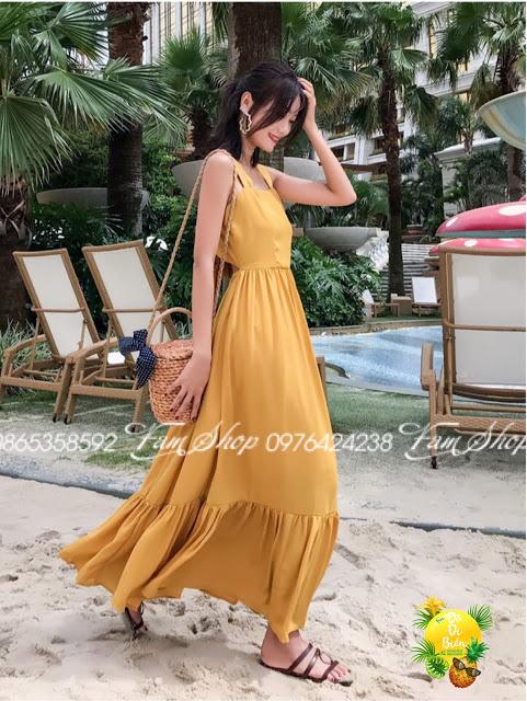 Shop ban vay maxi di bien tai Hoan Kiem