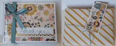Hello Darling Cards packaged in PTI gift boxes with coordinating tags