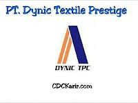 Lowongan Kerja GIIC PT Dynic Textile Prestige Cikarang Terbaru 2019