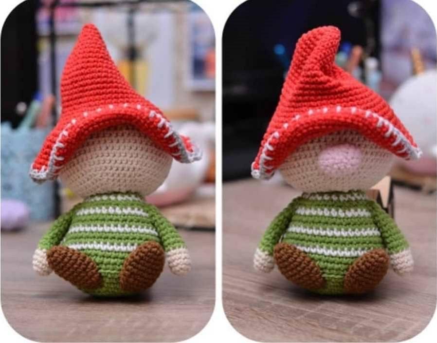 Amigurumi gnome free tutorial