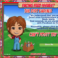 Posting Issues Workaround From The FarmVille Studio.