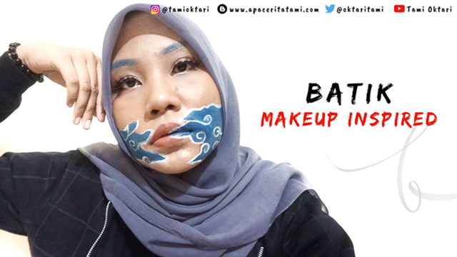 BEAUTIESQUAD COLLAB: Batik Makeup Look