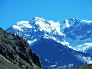 Aconcágua e Glaciar Superior, Mendoza, Argentina