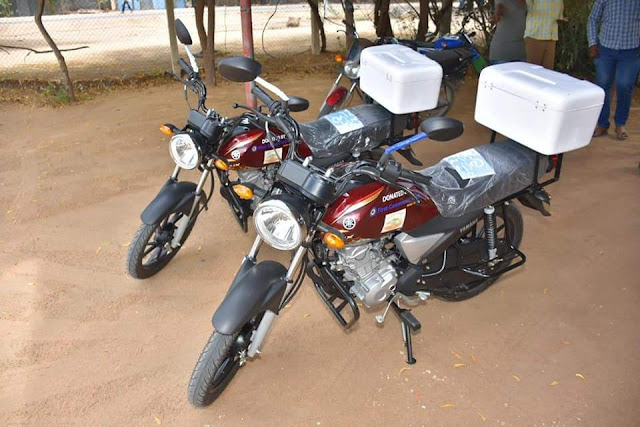 Motorbikes donated by FCB