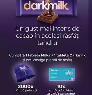 castigatori concurs darkmilka 2020 vouchere vivre 250 lei