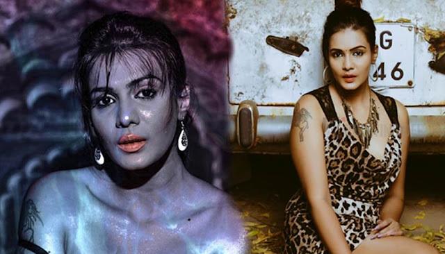 Meera Mitun's latest BACK TO BLACK sexy photos