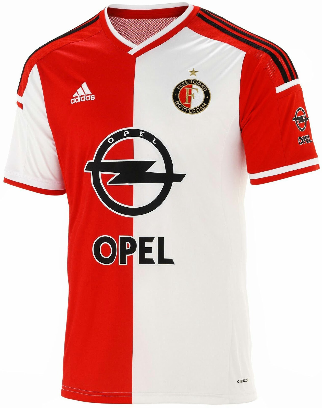 New Adidas Feyenoord 14-15 Kits Released