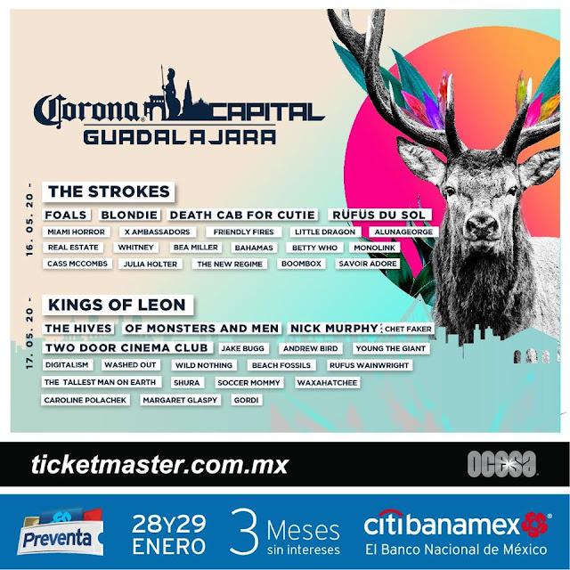 Corona Capital Guadalajara 2020