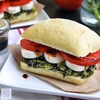 Caprese Sandwich Recipe | by Life Tastes Good