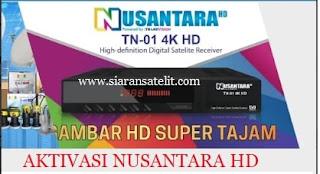 Cara Aktivasi Receiver Transvision Nusantara HD