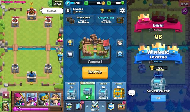 Boom! Clash Royale Sudah Resmi di Rilis Untuk Android