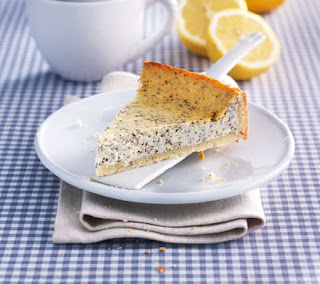 lemon and poppy cheesecake recipe