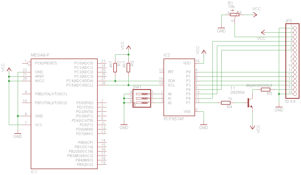 Davide Gironi: An AVR Atmega library for HD44780 based lcd