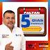 Faltan Cinco Días para la Continuidad en Álamos: Víctor Balderrama