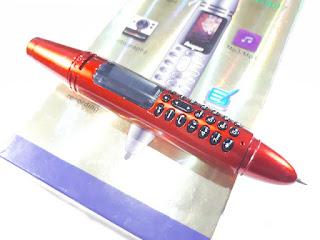 Hape Unik Hope AK007 Pen Phone Dual SIM Bluetooth Dialer Kamera Senter