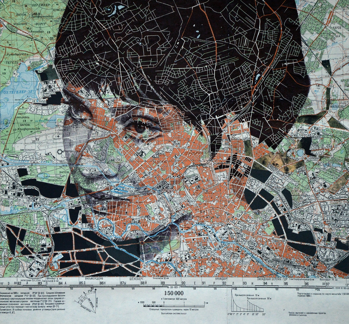 02-Anna-Karina-Edward-Fairburn-Maps-and-Cartography-linked-to-Portrait-Drawings-www-designstack-co