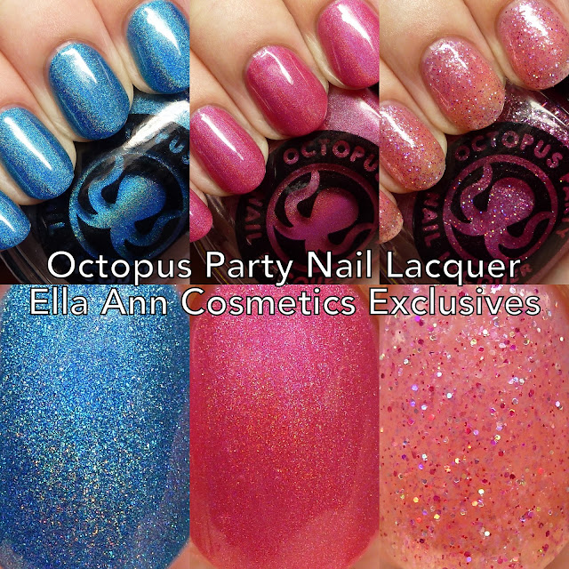 Octopus Party Nail Lacquer Ella Ann Cosmetics Exclusives