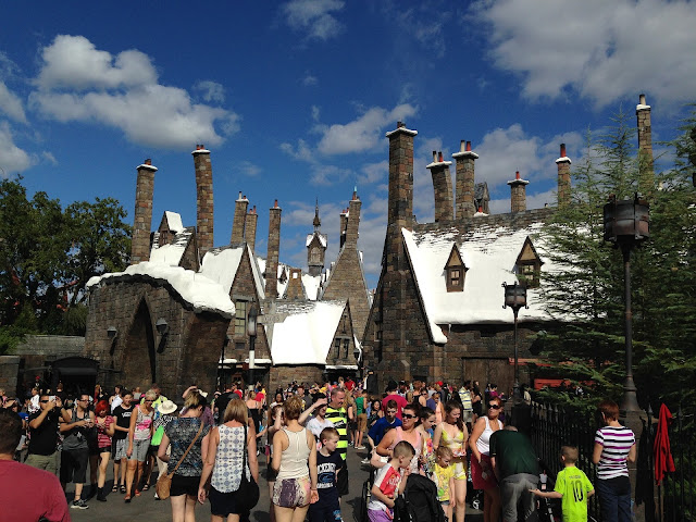 The Harry Potter Castle In Orlando, Florida