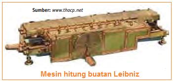 Mesin hitung buatan Leibniz