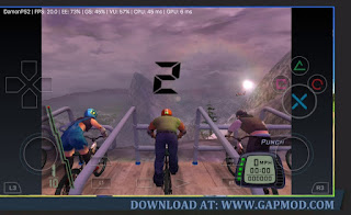 small size Downhill PPSSPP