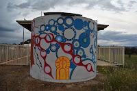 Little Billabong Painted Water tank