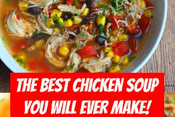 The BEST Chicken Soup You Will Ever Make! #crockpot #chicken #chickensoup #soup #comfortfood