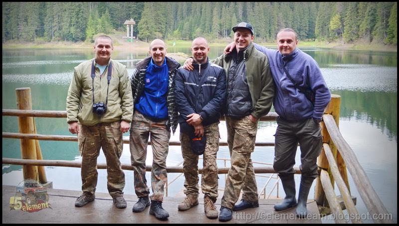 5 элемент джиперы на озере Синевир 2016