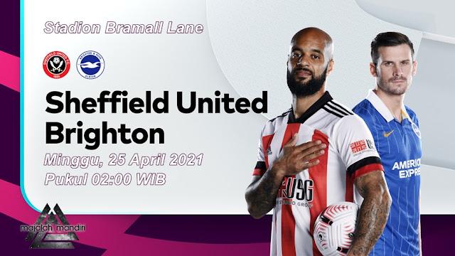 Prediksi Sheffield United Vs Brighton Hove Albion