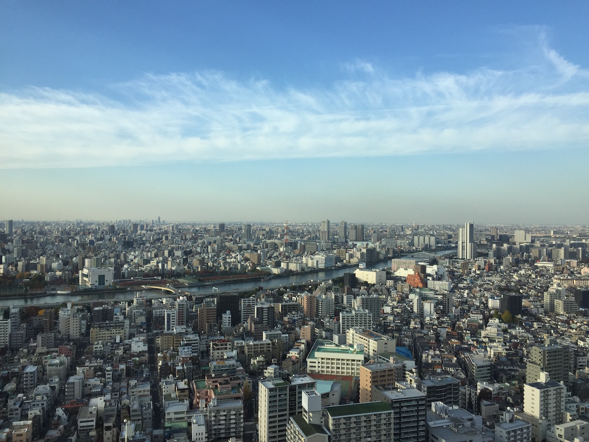 Tokyo Travel Guide  Skytree Tower view