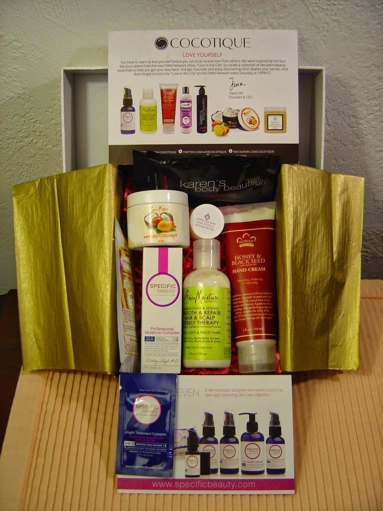 April 2014 Cocotique Beauty Box