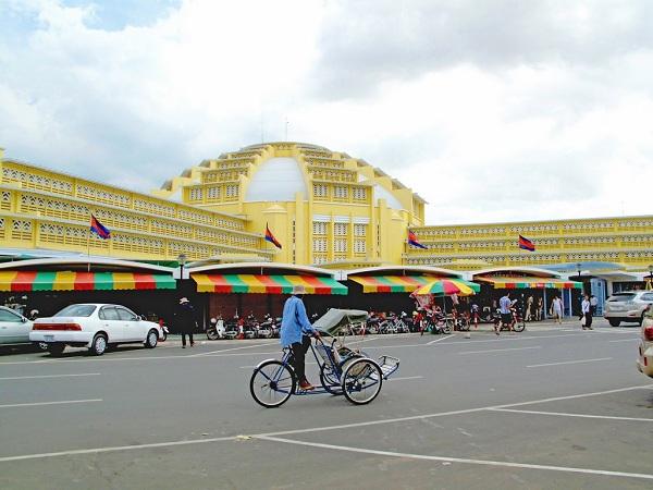 Chợ Phsa Thmey - Điểm mua sắm lý tưởng